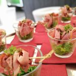 fingerfood pastrami